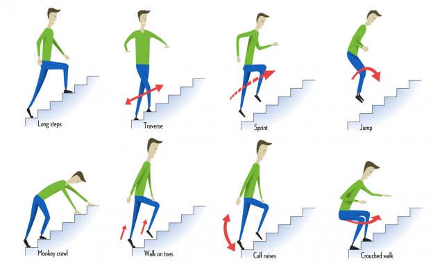 8 Ways To Climb Stairs The Ultimate Collection Of Stair Climbing Exercises