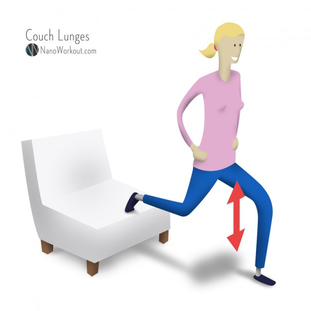 couch lunges